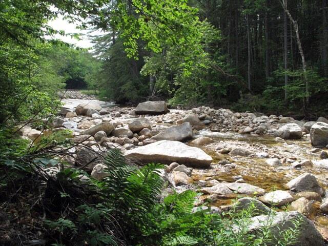 Kancamagus Highway River