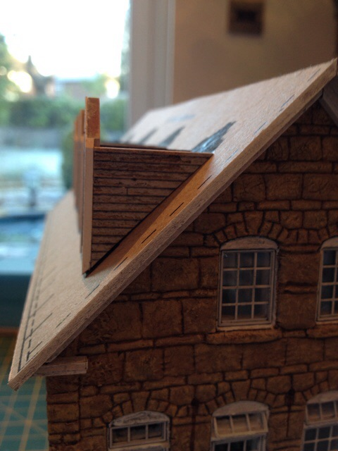 Dormers in a line