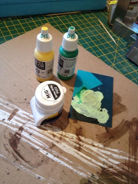 Lichen paints