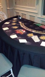 BLACKJACK BLACK TABLE