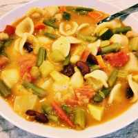No Oil Rachel Ray Copy Cat Vegan Minestrone Soup