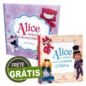 Livro Alice I + Livro Alice II AUTOGRAFADO