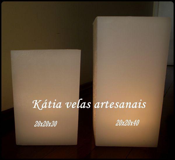 Luminria de cho 20x30  Ktia velas artesanais