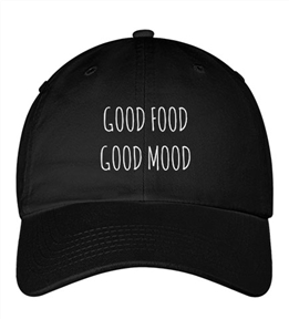 good food good mood hat