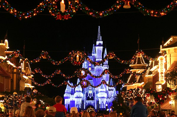 Walt Disney World During Christmas Year Of Clean Water