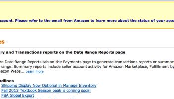 amazon has revoked my seller privileges