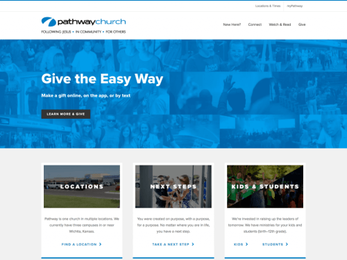 Pathway Church - Avada WordPress Theme