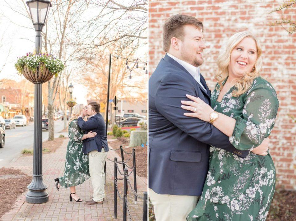 Taylor & Dustin's Atlanta, Georgia Engagement Session - Katie & Alec Photography Birmingham, Alabama Wedding Photographers
