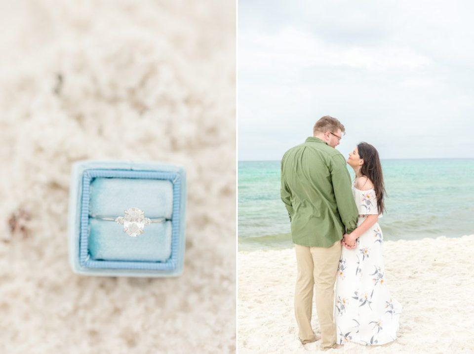 Krys & Tyler's 30A Beach Engagement Session - Katie & Alec Photography