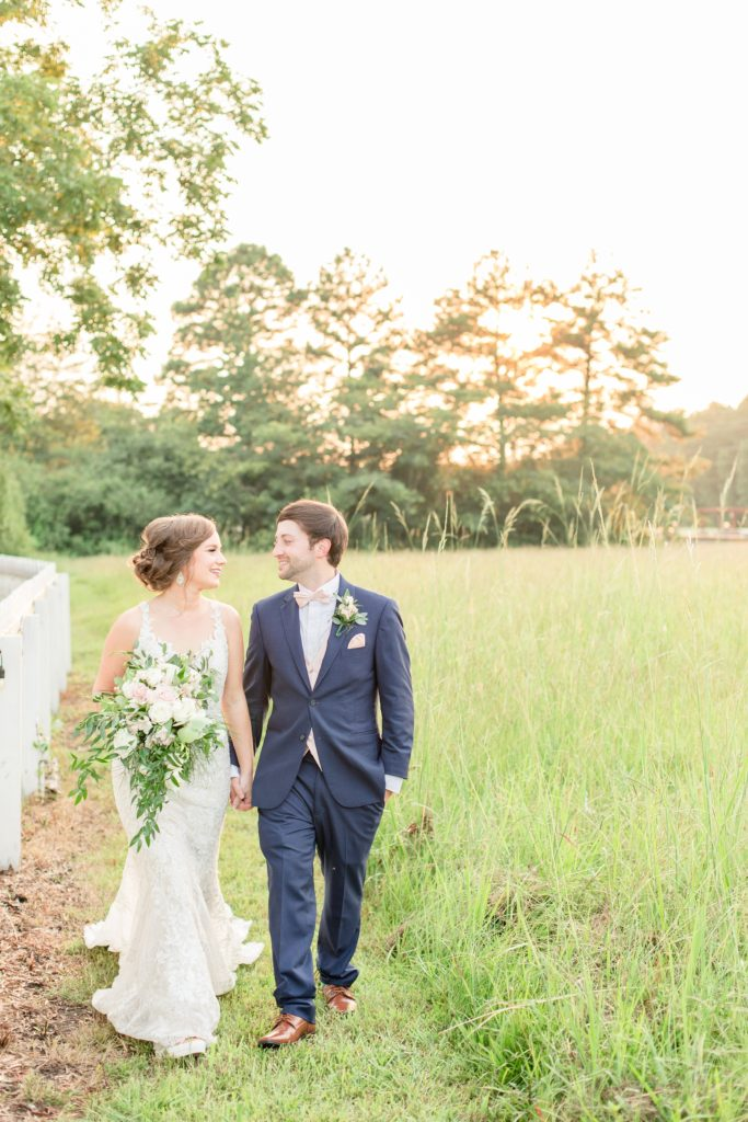 Sunset photos Camelot Manor Wedding - Birmingham, Alabama Wedding Photographers Katie & Alec Photography