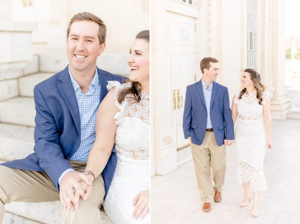 Patrick & Meredith's Birmingham, Alabama Engagement Session - Birmingham, AL wedding & engagement photographers Katie & Alec Photography