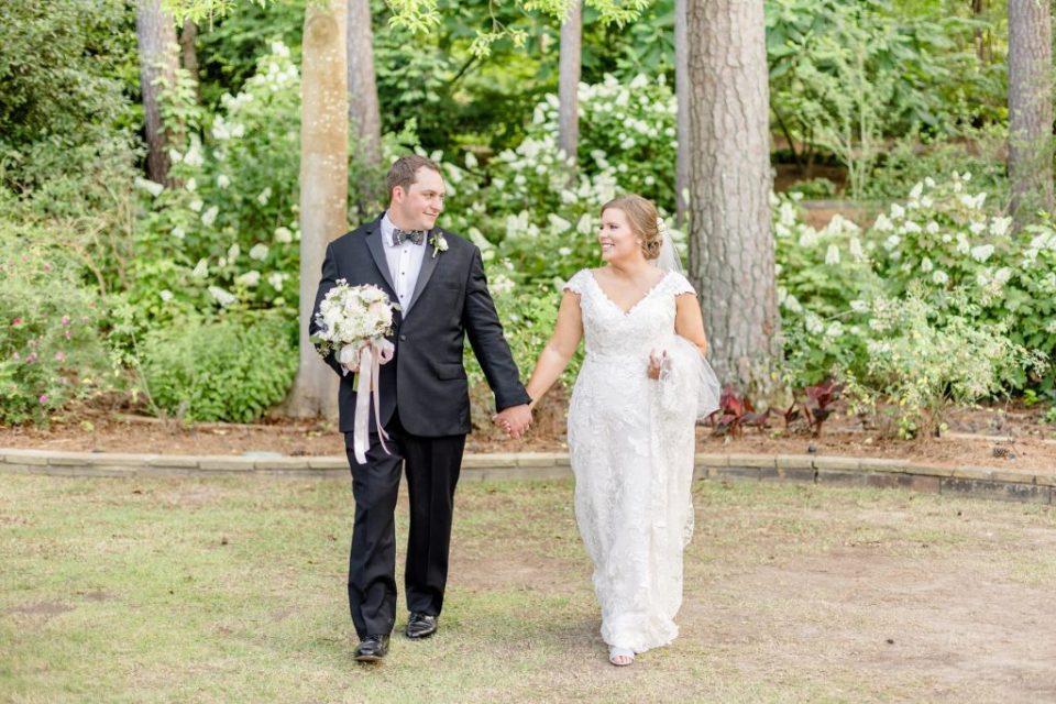 Stanleys Wedding Photos at the Birmingham Botanical Gardens in Birmingham, Alabama - Katie & Alec Photography