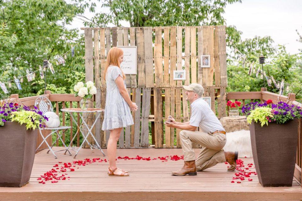 Scott & Olivia's Birmingham, Alabama Proposal - Birmingham Proposal Photographers Near Me Katie & Alec Photography