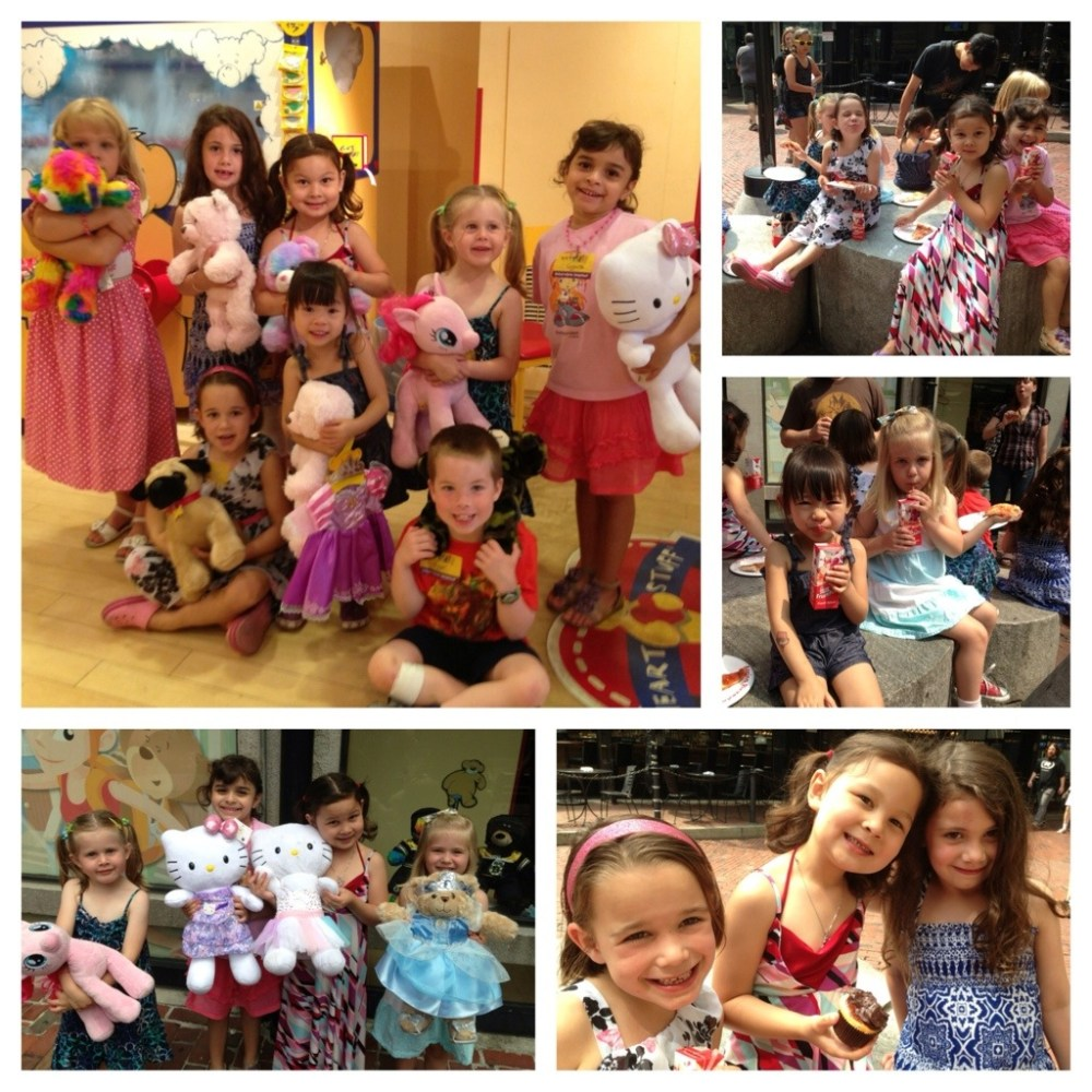 Birthday party at Build-a-Bear Workshop