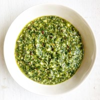 Spicy Parsley Pesto With Feta