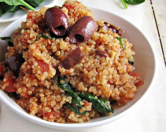Greatist Collaboration: Quinoa Puttanesca