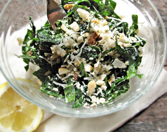 Greatist Collaboration: Raw Kale and Pecorino Salad