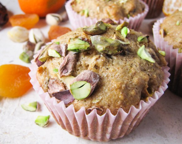 Monday Morning Resolutions: Healthy Christmas Muffins