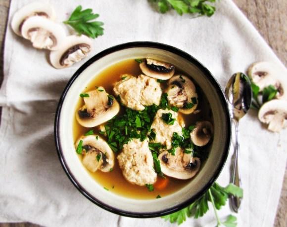 Book Club: The Little Paris Kitchen // Chicken Dumpling Soup