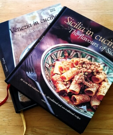 Venezia in Cucina, Sicilia in Cucina - Italian Cookbooks