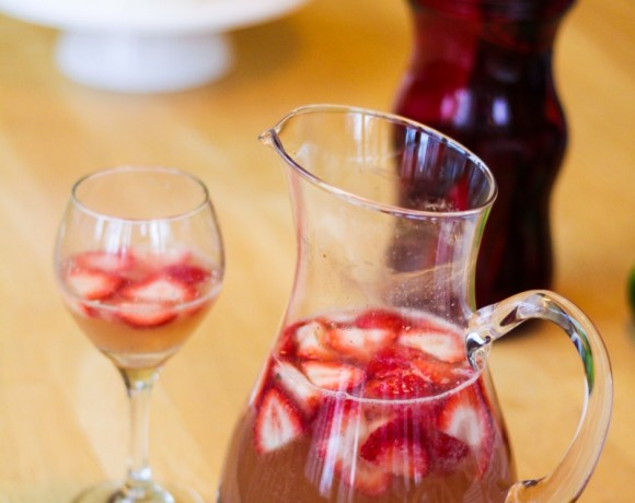Panini Party // Two Paninis and The Best Sparkling Sangria