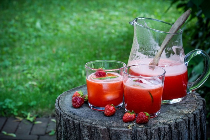 Strawberry Lime Agua Fresca {Katie at the Kitchen Door}