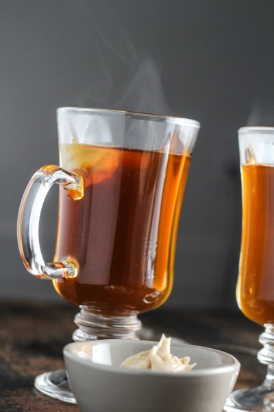 Burnt-Sugar Hot Buttered Rum {Katie at the Kitchen Door}