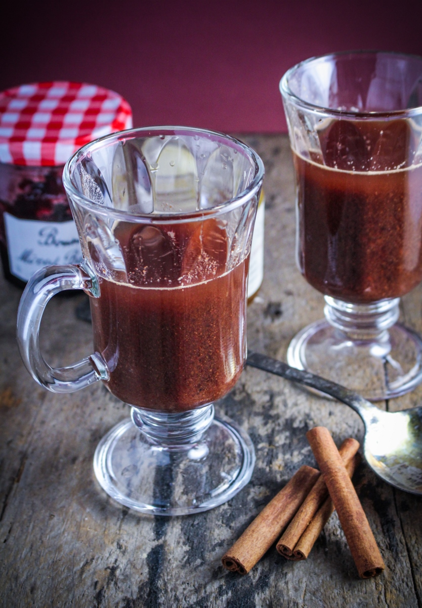 Sbiten: Russian Mulled Rum with Honey and Jam {Katie at the Kitchen Door}