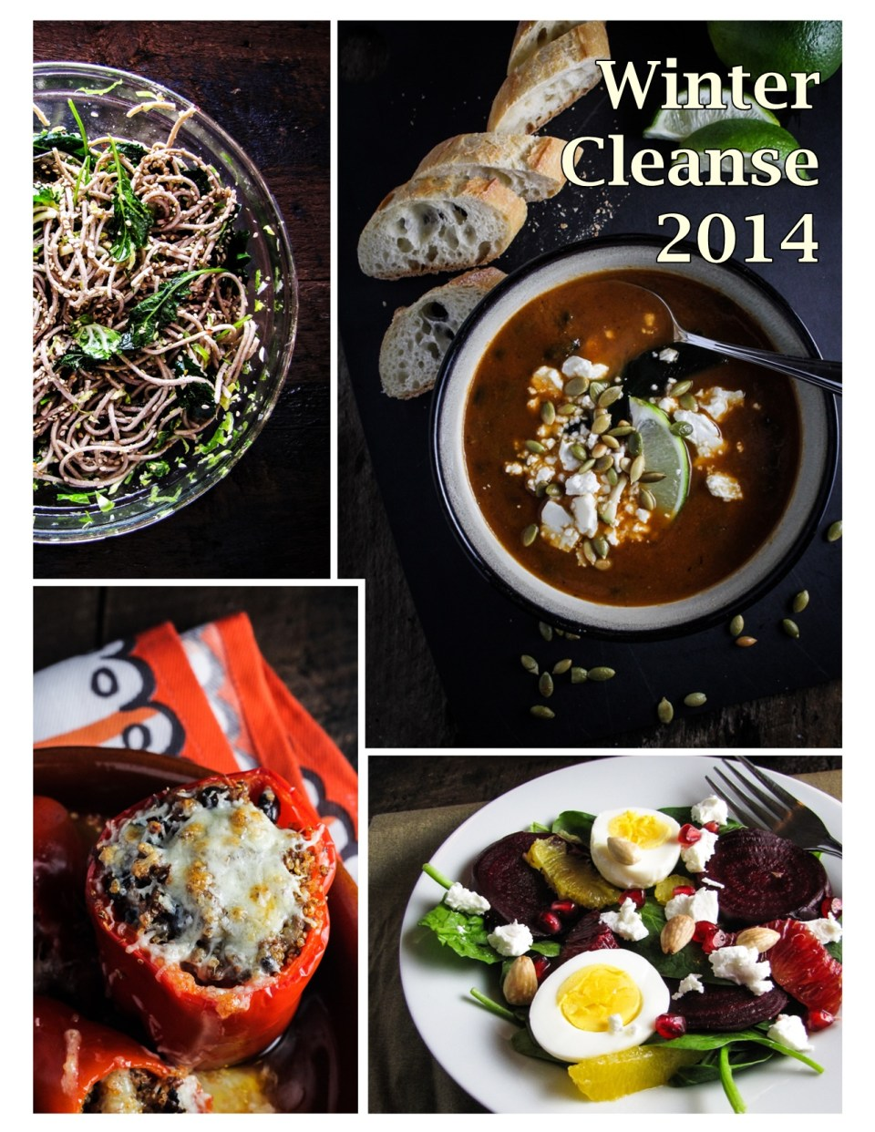 Winter Cleanse 2014 - 14 Healthy, Seasonal, and Delicious Recipes from Katie at the Kitchen Door