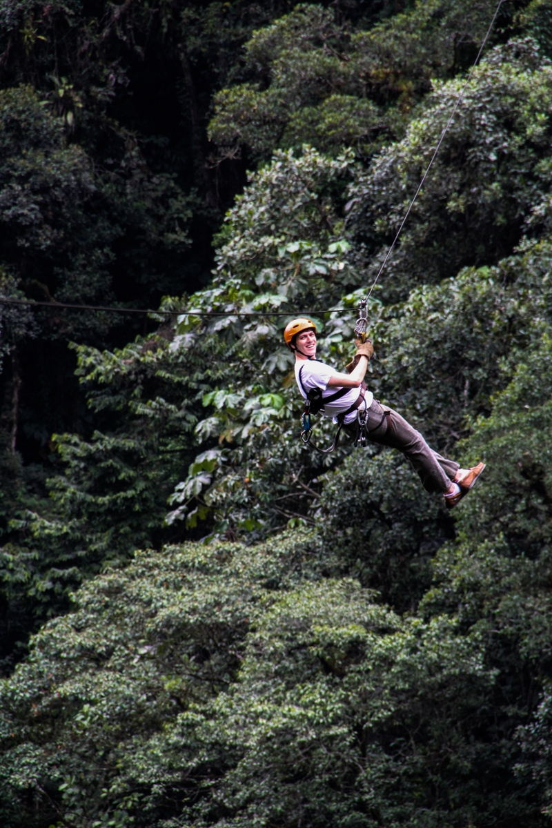 Ziplining in the Cloud Forest, Baños, Ecuador {Katie at the Kitchen Door}