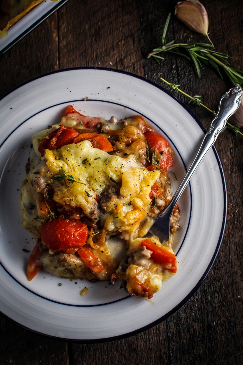 Ratatouille Shepherd's Pie {Katie at the Kitchen Door}