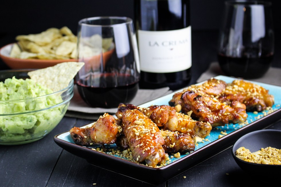 Korean Gochujang Wings {Katie at the Kitchen Door} #LaCremaStyle