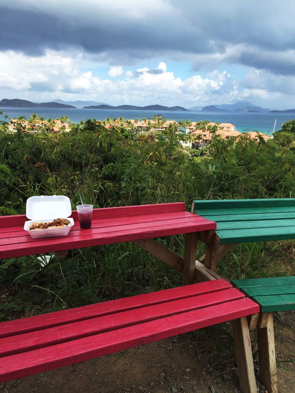 Lunch with a View, St. Thomas - USVI Travelogue {Katie at the Kitchen Door}