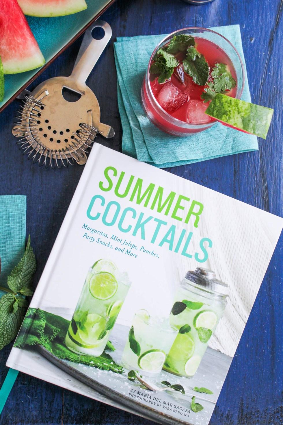 Summer Cocktails Cookbook Review {Katie at the Kitchen Door}