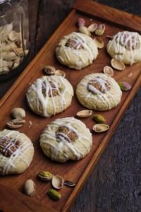 Pistachio Thumbprint Cookies {Katie at the Kitchen Door}