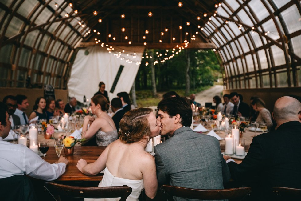 Katie & Trevor's Maine Barn Wedding