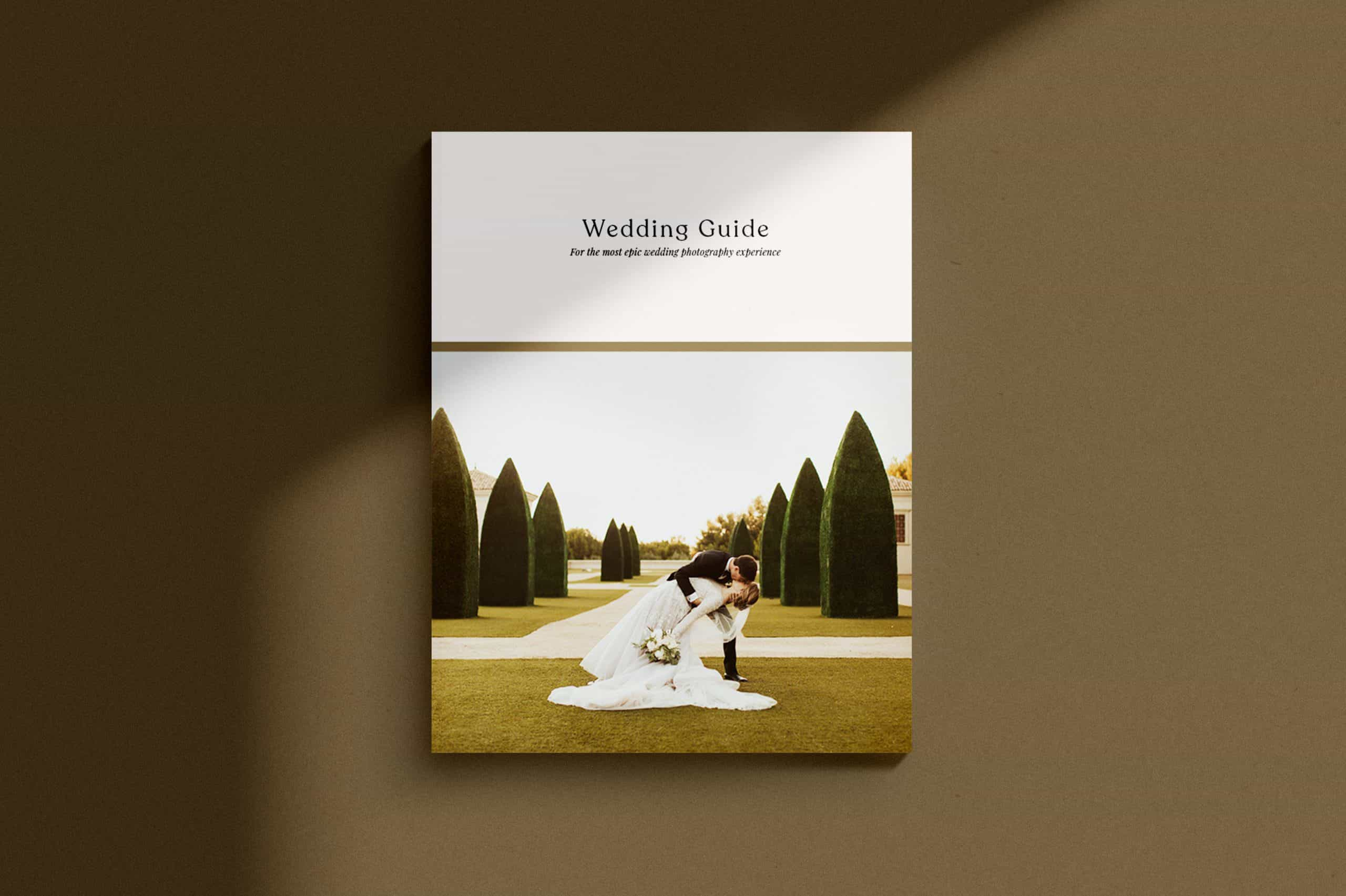 Sedona Wedding Guide Template