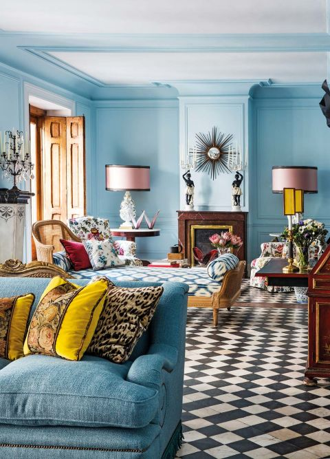 Fashion designer Jorge Vazquezs Madrid Home  Katie Considers