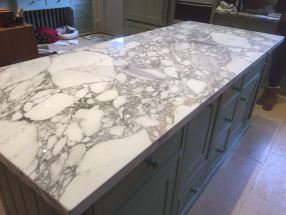 Arabescato Marble Worktop