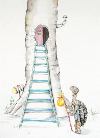 Second Story Climb Up