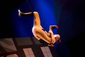 Comedic Aerial Hoop