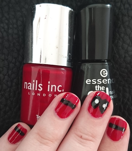 Marvel Deadpool Nails Superhero Nail Art