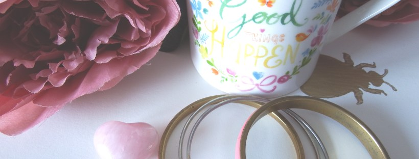Make Good Things Happen Pink Flowers Pink Accessories