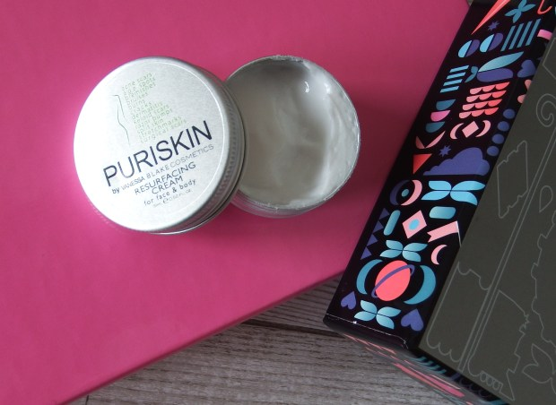 May 2016 Birchbox For The Dreamers Puriskin Resurfancing Cream For Face and Body