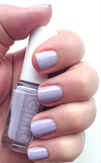 Essie Virgin Snow Nail Polish Review and Swatches