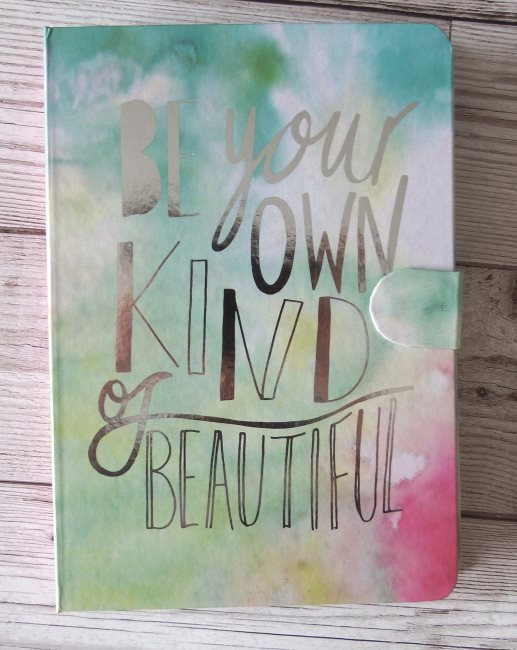 Paperchase - Be Your Own Kind of Beautiful Slogan - Multi List Book stationery