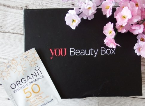 You Beauty Subscription Box June 2016 Review and Unboxing Organii SPF 50 Sun Milk