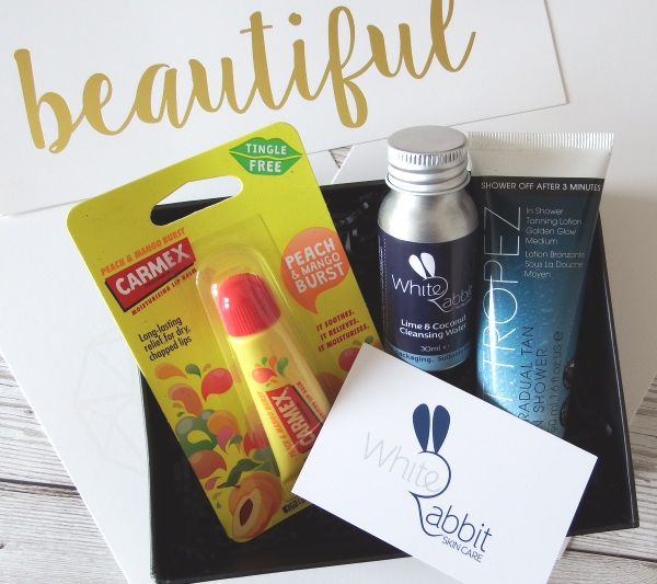 July You Beauty Box 2016 review and unboxing