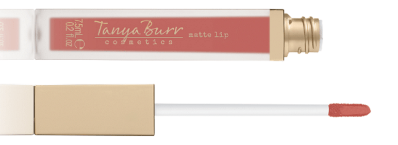 Tanya Burr Luxe Lip Gloss in Martha Moo Review and Swatches