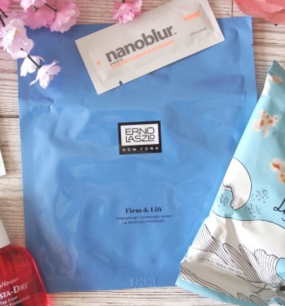 You Beauty September 2016 Review and Unboxing Erno Laszlo Firm & Lift Firmarine Hydrogel Mask